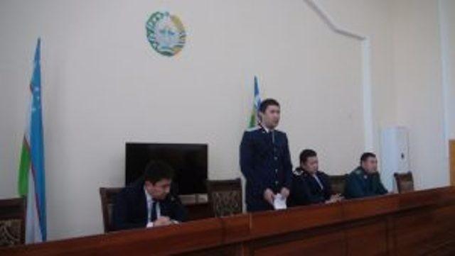 Қанлыкөл районы прокурорының 2017-жыл бойынша есабаты